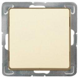 Cariva 101 egypólusú kapcsoló keret nélkül bézs 773701