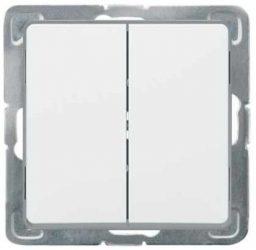 Cariva 105 csillárkapcsoló keret nélkül  fehér 773605