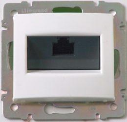 Valena  1*RJ45 informatikai aljzat UTP Cat. 5e fehér 774230
