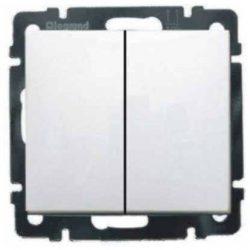 Valena  csillárkapcsoló keret nélkül fehér 774405