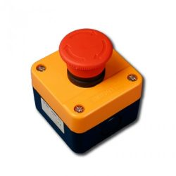 Vészgomb piros Chint reteszelt tokozott CH-NP2-J174