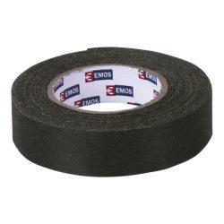 szigetelőszalag  textil 19mm*10m  fekete Emos F6910