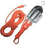 Steklámpa E27 60W kapcsolóval narancssárga 5m kábellel