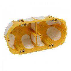 Gipszkarton doboz  kettes körmös Kopos KPL 64-50/2LD légtömített