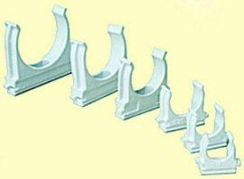 Csőbilincs sorolható műanyag  Mü II 40 csőhöz