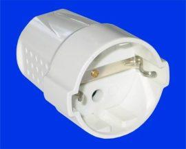 dugalj  lengő földelt fehér STI444