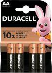 elem Duracell ceruza AA 1.5V tartós Plus LR06