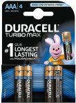 Elem Duracell mikro ceruza AAA 1.5V tartós Turbo LR03