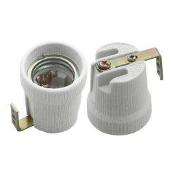 foglalat porcelán E27 rögzíthető