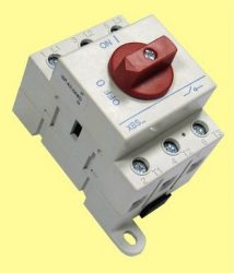 Forgócsapos 3*63A moduláris kapcsoló XBS SMD 363DI