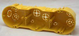 Gipszkarton doboz  hármas körmös Kopos KPL 64-50/3LD légtömített