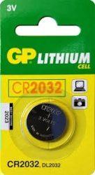 Gombelem 3V-os GP CR 2032