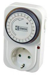 Kapcsolóóra dugaljba Emos mechanikus TS-MD31