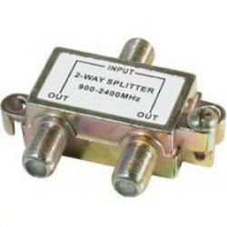 Koax elosztó splitter fém 2-es 900-2400Mhz TSP1910
