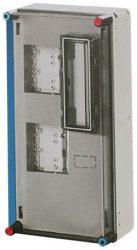 Mérőszekrény 2* 1 fázisú Hensel Basic HB11KA