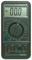 műszer M92A digitális multiméter