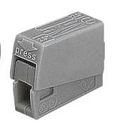 sorkapocs csillárhoz XBS PC301 szürke 1*1-2,5mm