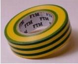 szigetelőszalag  20m-es  (0,13*19mm) zöld-sárga FOOTMARK