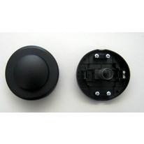 talpkapcsoló  fekete  250V 1A GAO 0746H